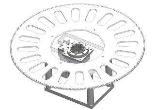 bearing for indexing plate