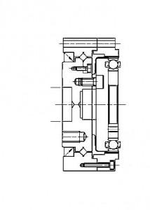CSD-14 output bearing installation