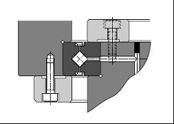 RE cross roller bearing installation