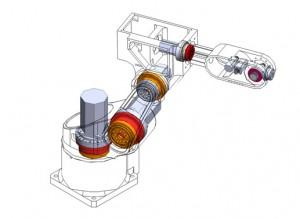 CSF-25 crossed roller bearing application