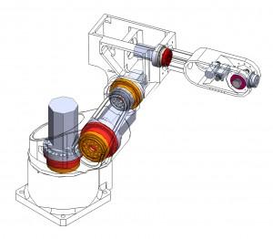 robots joint bearing