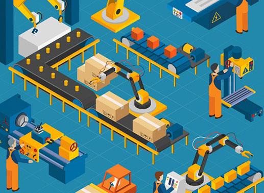 robots bearings applied in food industry