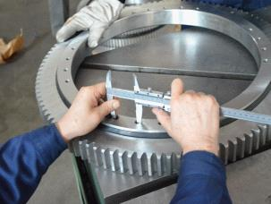 bearing quality control process dimension test