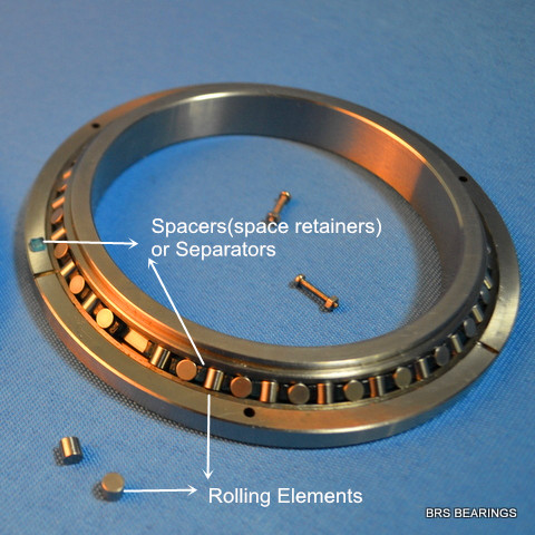 cross roller bearing components