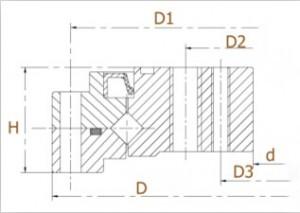 CSF harmonic reducer Structure