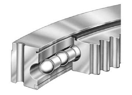 single row ball slewing ring bearing
