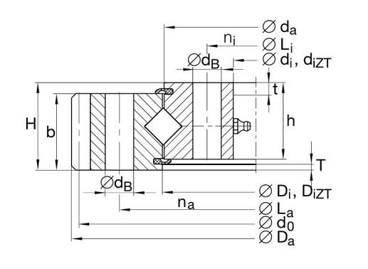 XA120235-N bearing structure
