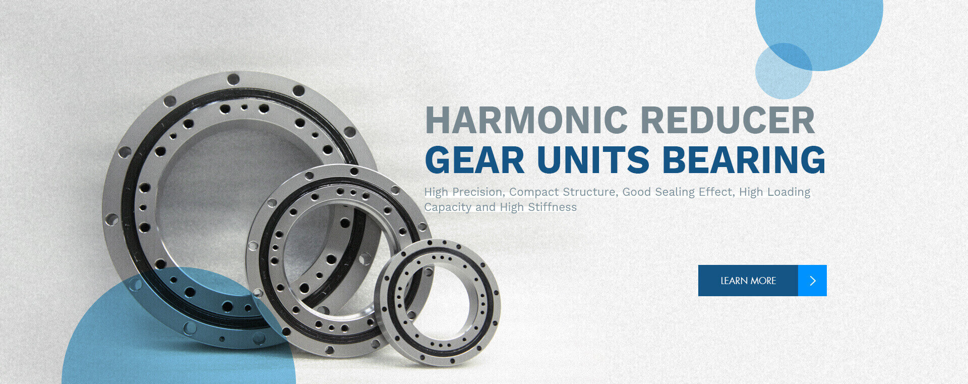 harmonic reducer gear units bearings