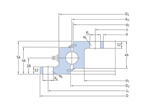 RKS.23 0411 bearings structure
