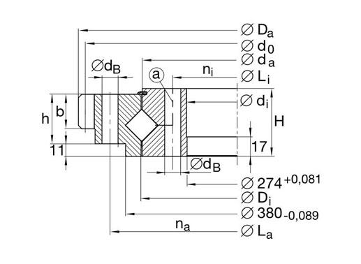XA200352-H bearing structure