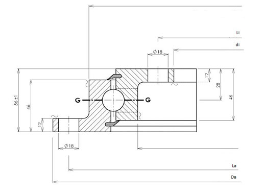 23 0411 01 slewing bearings structure