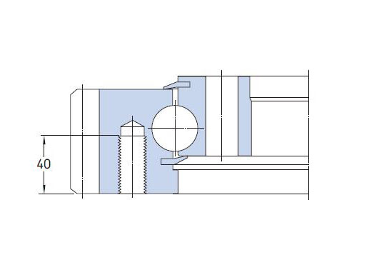 RKS.302070202001 slewing bearing structure